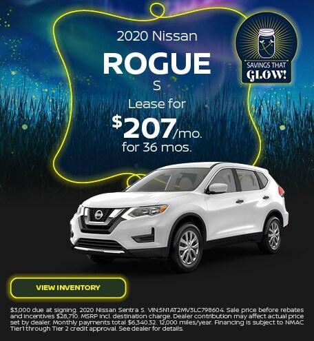 2020 Nissan Rogue S - September 2020