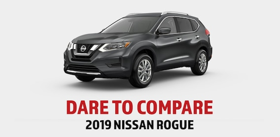 2019 Nissan Rogue vs Competition | Zeigler Nissan of Orland Park