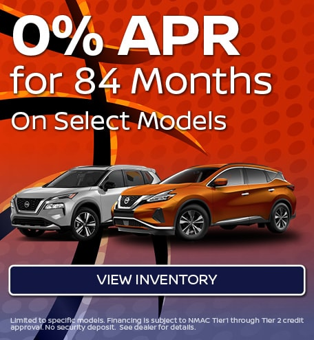 0% APR for 84 Months - March 2021