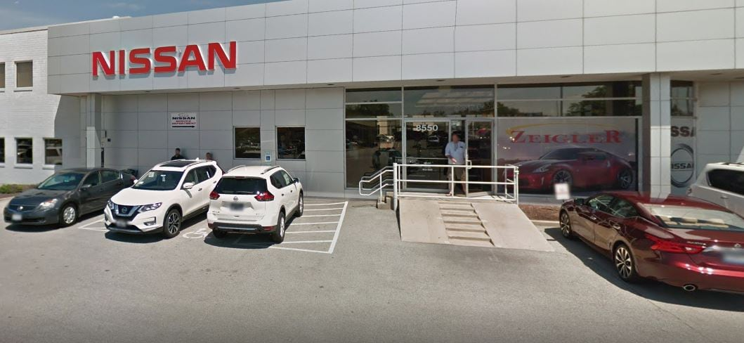 Zeigler Nissan of Orland Park car dealership