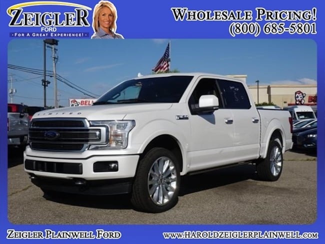 2018 Ford F-150 Limited 4x4 Limited  SuperCrew 5.5 ft. SB