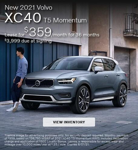 New 2021 Volvo XC40