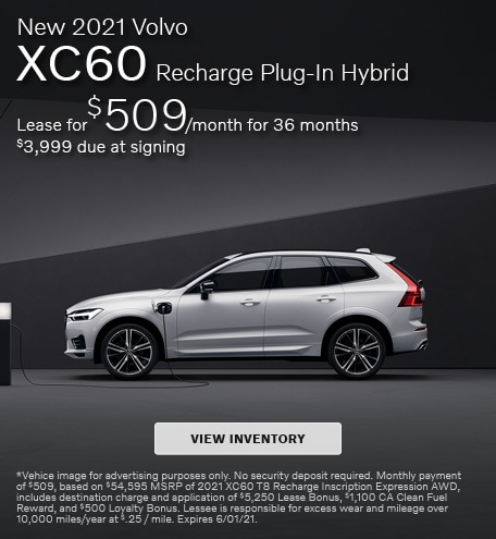 New 2021 Volvo XC60 Recharge Plug-In