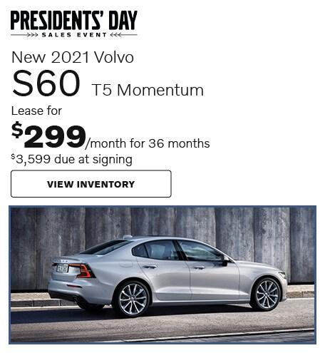 New 2021 Volvo S60