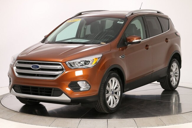 Used 2017 Ford Escape Titanium SUV Knoxville