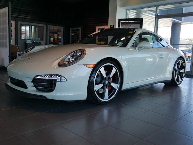 2014 Porsche 911 50th Anniversary Edition Coupe