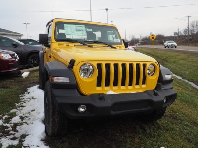 new 2019 Jeep Wrangler SPORT 4X4 Sport Utility For Sale/Lease Dover, OH