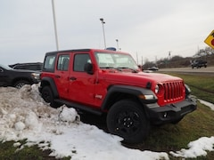 New 2019 Jeep Wrangler UNLIMITED SPORT 4X4 Sport Utility 1C4HJXDG5KW559785 for sale in Dover, OH
