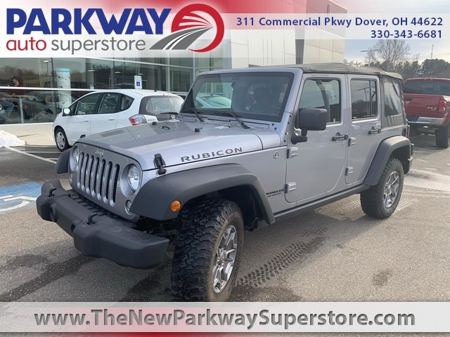 Featured Used 2015 Jeep Wrangler Unlimited Rubicon 4x4 SUV for sale near you in Dover, OH