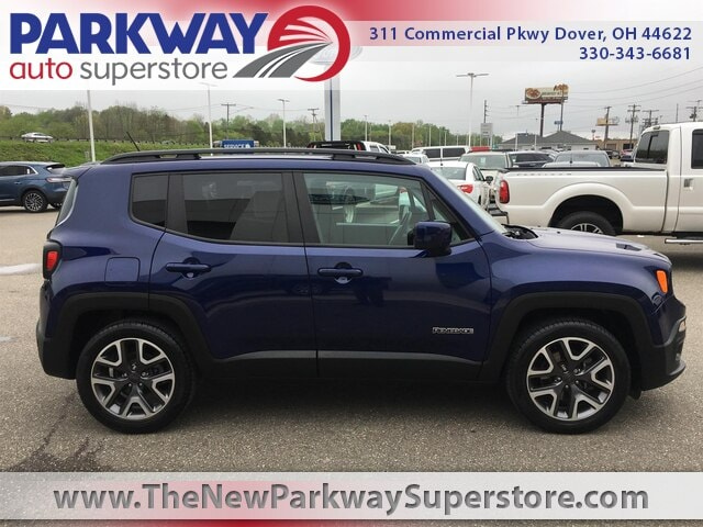 Featured Used 2016 Jeep Renegade Latitude FWD SUV for sale near you in Dover, OH
