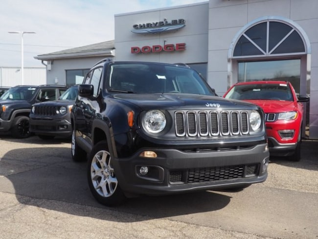 new 2018 Jeep Renegade LATITUDE 4X4 Sport Utility For Sale/Lease Dover, OH