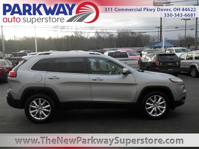 Featured Used 2015 Jeep Cherokee Limited 4x4 SUV for sale near you in Dover, OH