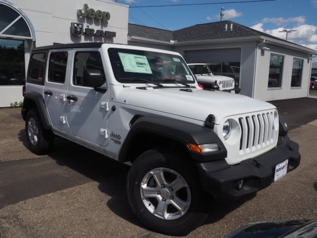 new 2018 Jeep Wrangler UNLIMITED SPORT S 4X4 Sport Utility For Sale/Lease Dover, OH
