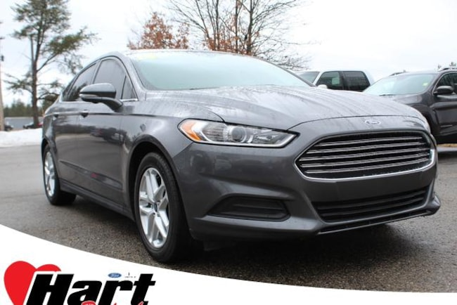 2014 Ford Fusion For Sale >> Used 2014 Ford Fusion For Sale At Hart Ford Lincoln Inc Vin