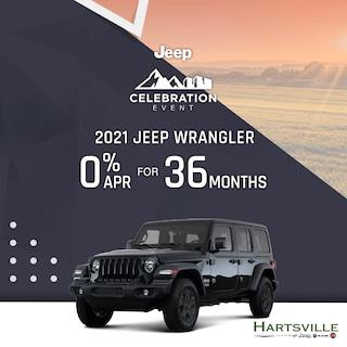 2021 Jeep Wrangler Jeep Celebration Event