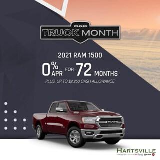 2021 Ram 1500 Truck Month