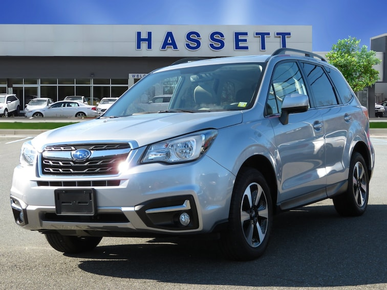 Certified Used 2018 Subaru Forester Limited 2.5i Limited CVT in Wantagh, NY
