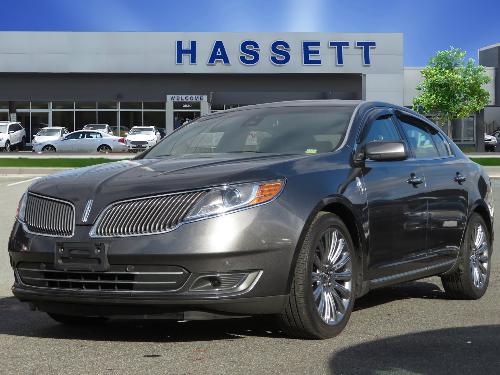 2015 Lincoln MKS 4DR SDN 3.7L AWD Sedan