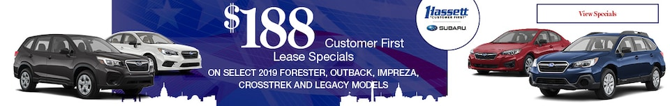 Customer First Lease Specials