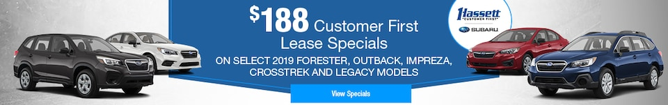 2019 Customer First Lease Special