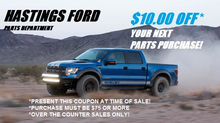 Hastings Ford Greenville Nc >> Ford Parts Specials | Hastings Ford Inc