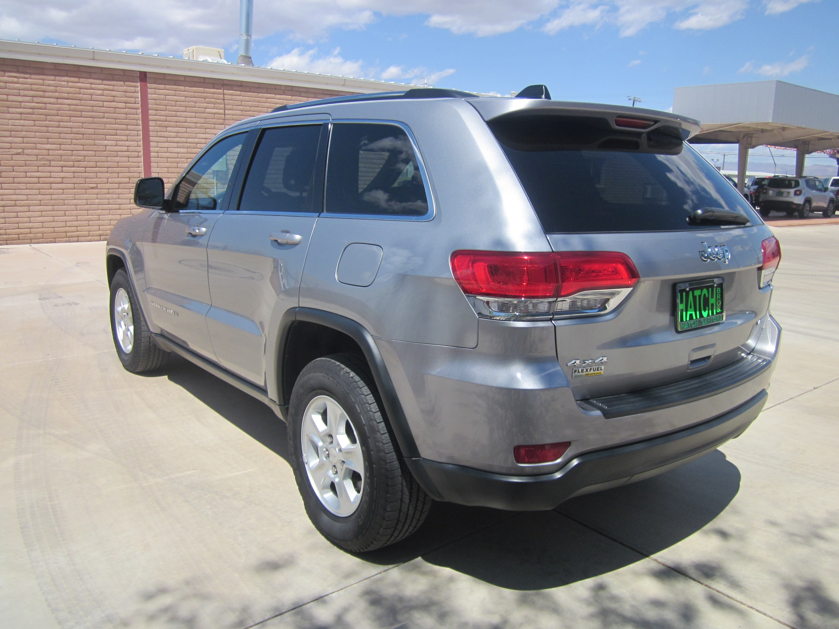used 2015 jeep grand cherokee laredo 4x4 for sale safford az. Black Bedroom Furniture Sets. Home Design Ideas