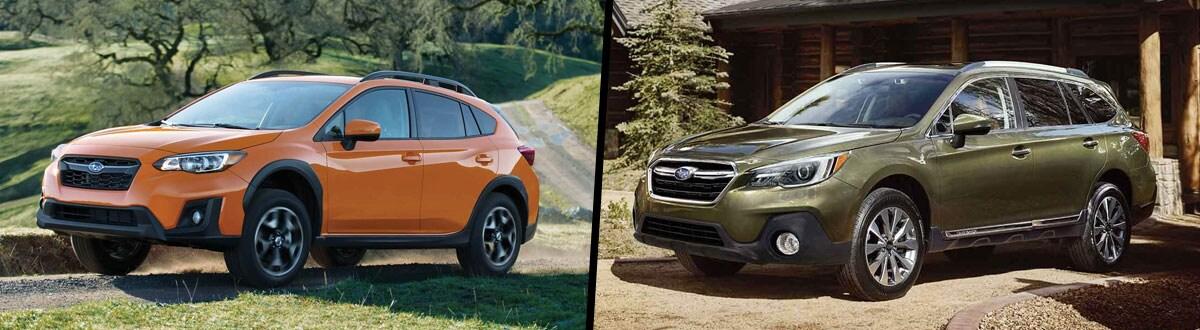 Crosstrek Vs Outback >> 2019 Subaru Crosstrek Vs 2019 Subaru Outback Comparison Columbus Oh
