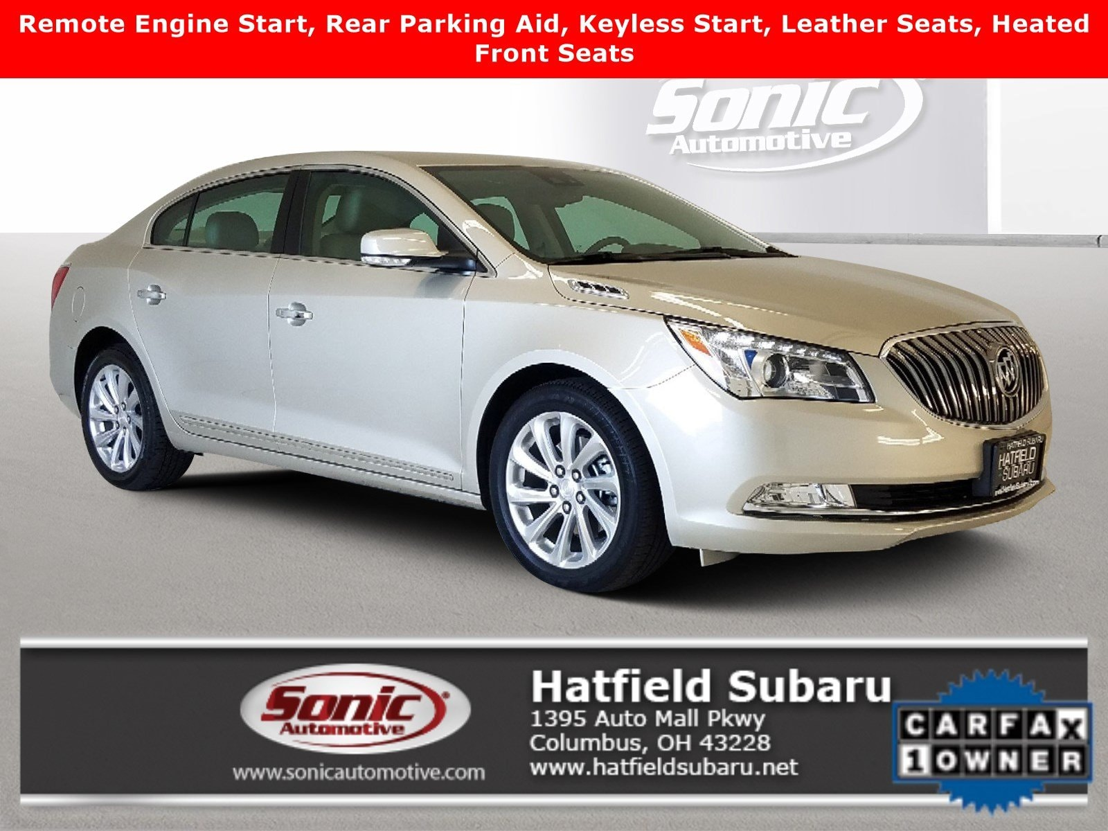 2016 Buick Lacrosse Leather 4dr Sdn  FWD