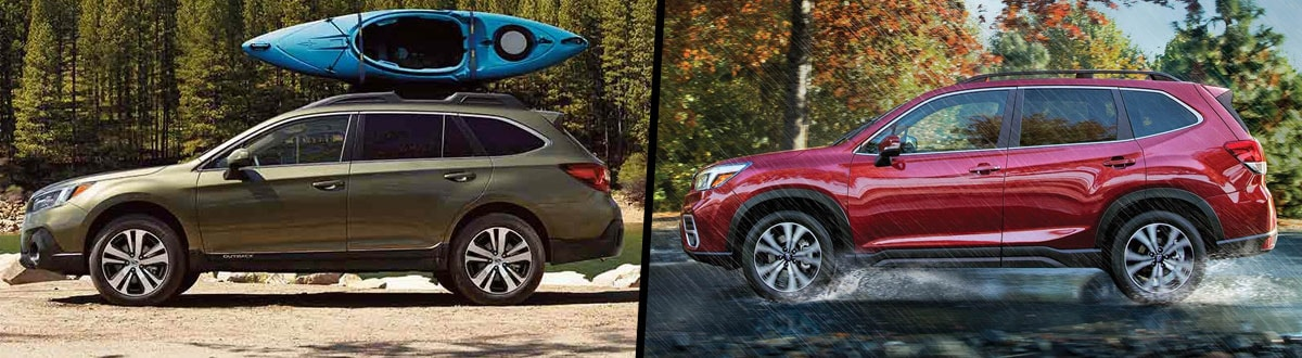 Outback Vs Forester >> 2019 Subaru Outback Vs 2019 Subaru Forester Comparison Columbus Oh
