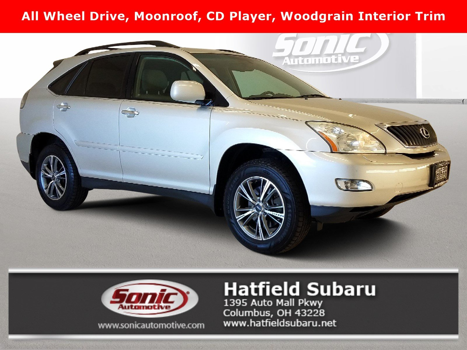 Used 2008 Lexus Rx 350 Awd 4dr For Sale In Columbus Oh Stock