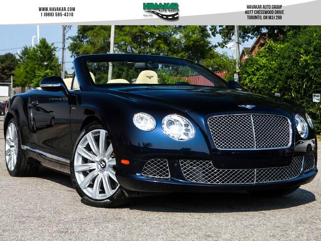 2014 Bentley GTC W12 Convertible