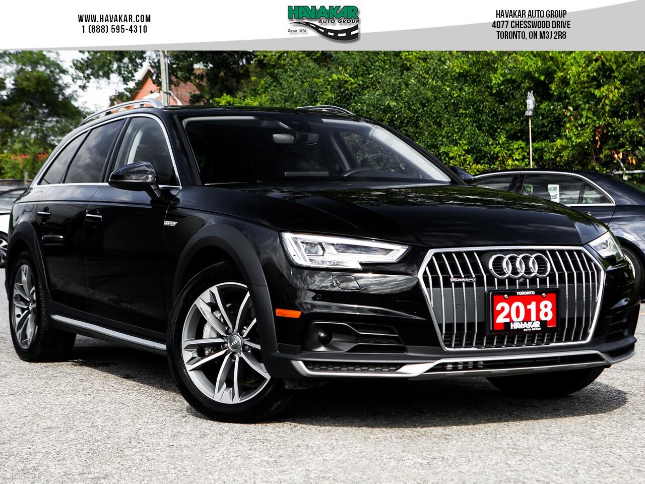 2018 Audi A4 allroad Wagon 2.0T Technik w/ Advance Driver Assist Wagon