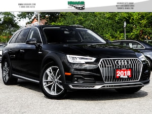 2018 Audi A4 allroad 2.0T Technik w/ Advance Driver Assist
