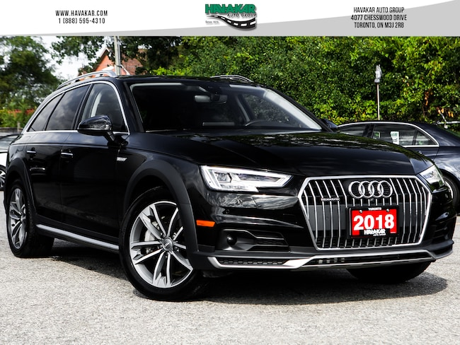2018 Audi A4 allroad Wagon 2.0T Technik w/ Advance Driver Assist Wagon