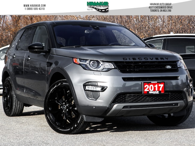2017 Land Rover Discovery Sport HSE w/ Black Design Pkg, Driver Tech Nav and more SUV