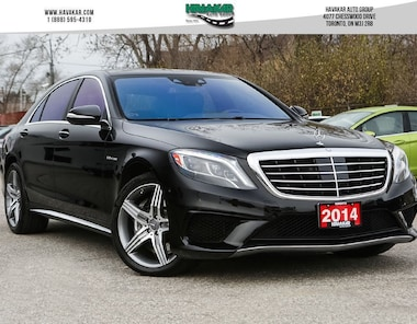 2014 Mercedes-Benz S63 AMG Base Sedan