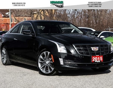 2015 Cadillac ATS AWD 2.0L Turbo Luxury Coupe
