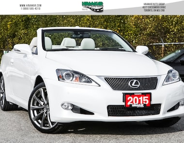 2015 LEXUS Is250c CABRIO Convertible