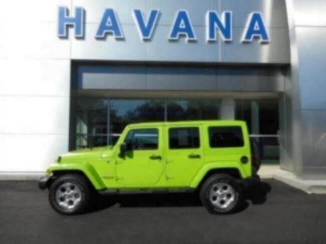 2013 Jeep Wrangler Unlimited Sahara 4WD  Sahara