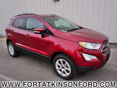 Used 2018 Ford EcoSport SE SUV for sale in Fort Atkinson, WI