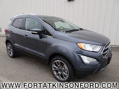 Used 2018 Ford EcoSport Titanium SUV for sale in Fort Atkinson, WI