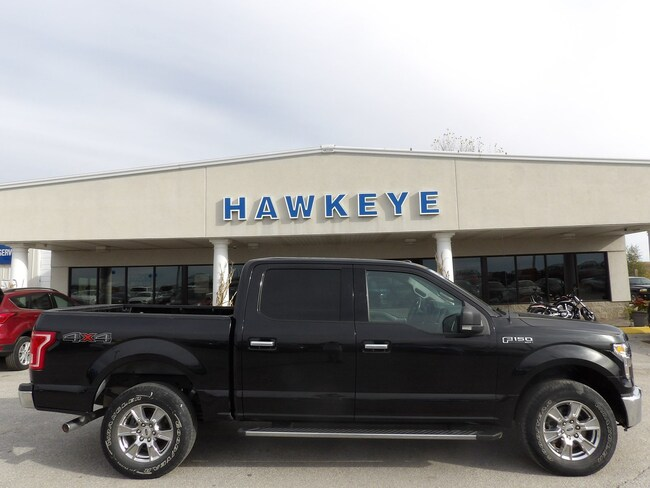 Used 2015 Ford F-150 XLT 4WD SuperCrew 145 XLT for Sale in Red Oak, IA