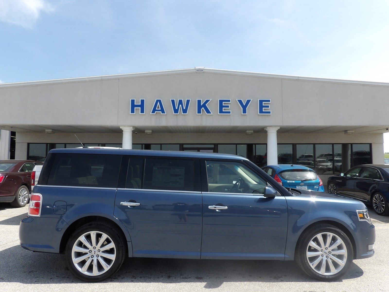 Featured New 2018 Ford Flex Limited EcoBoost Limited EcoBoost AWD for sale near you in Red Oak, IA