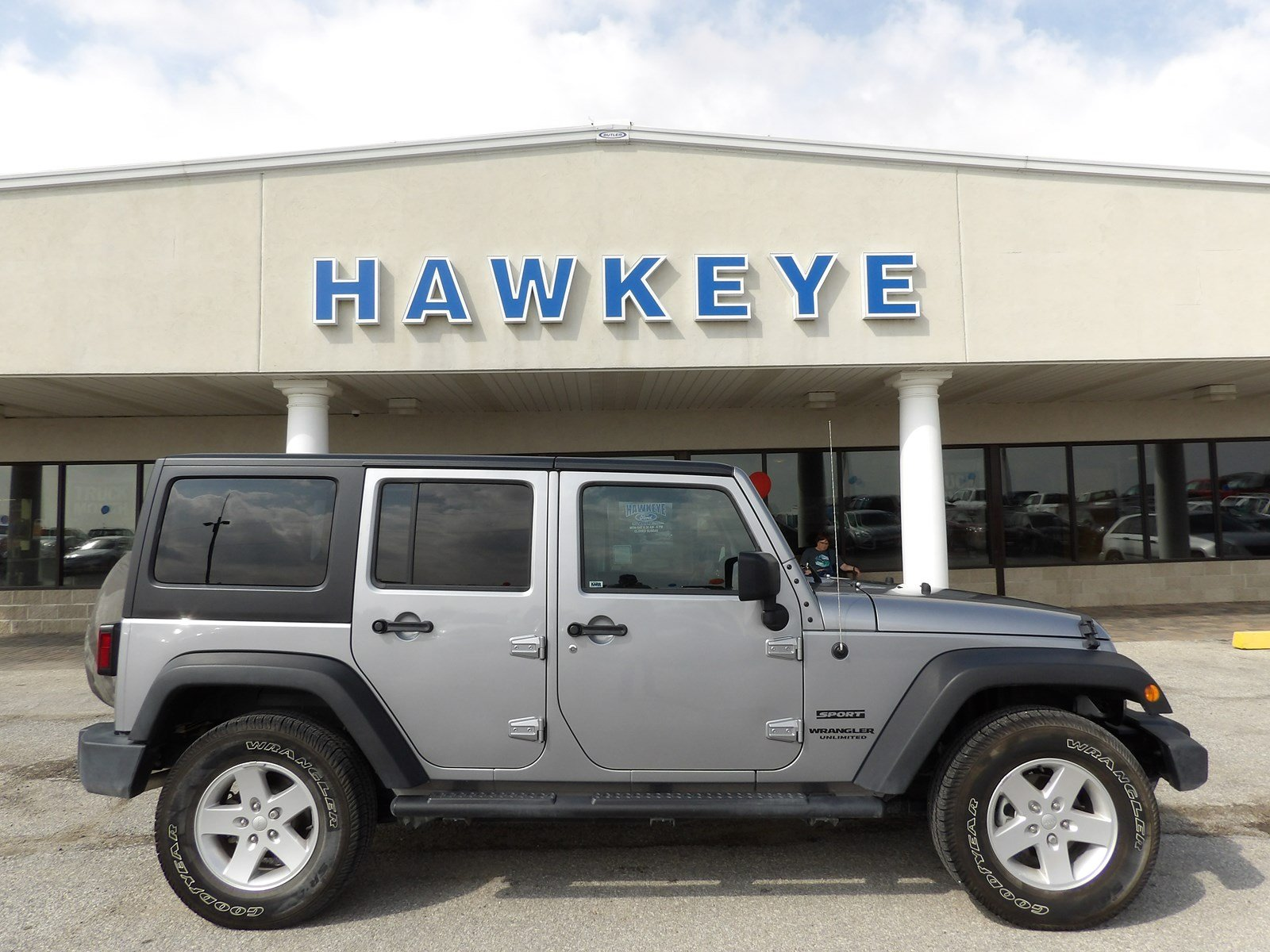 Featured Used 2017 Jeep Wrangler Unlimited Sport Sport 4x4 for sale near you in Red Oak, IA