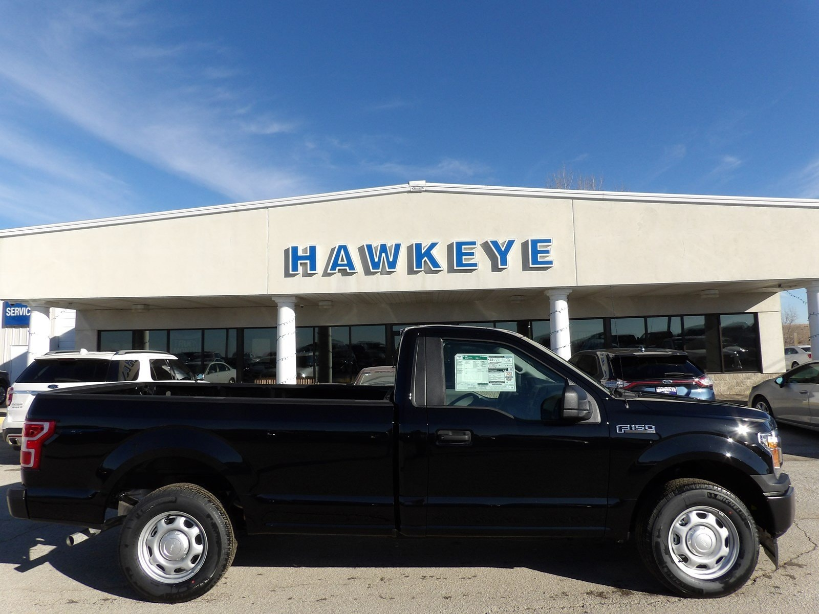 Featured New 2019 Ford F-150 XL XL 2WD Reg Cab 8 Box for sale near you in Red Oak, IA