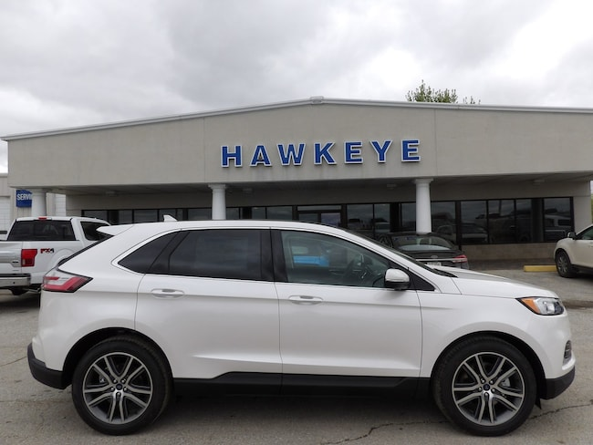 New 2019 Ford Edge Titanium Titanium AWD for Sale in Red Oak, IA