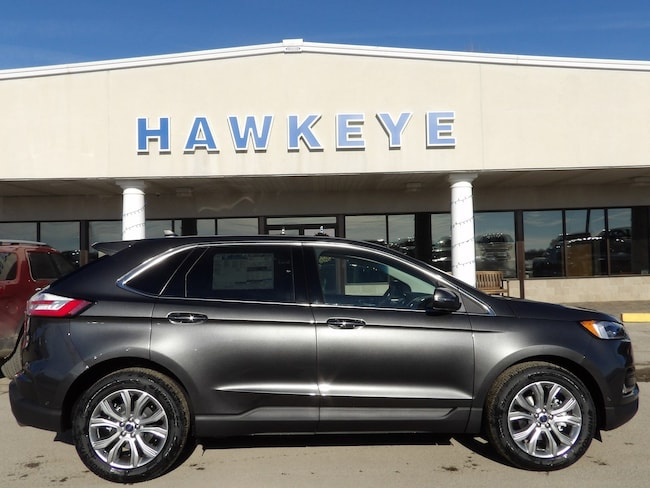 New 2019 Ford Edge Titanium Titanium FWD for Sale in Red Oak, IA