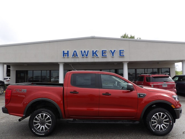 New 2019 Ford Ranger XLT XLT 4WD SuperCrew 5 Box for Sale in Red Oak, IA