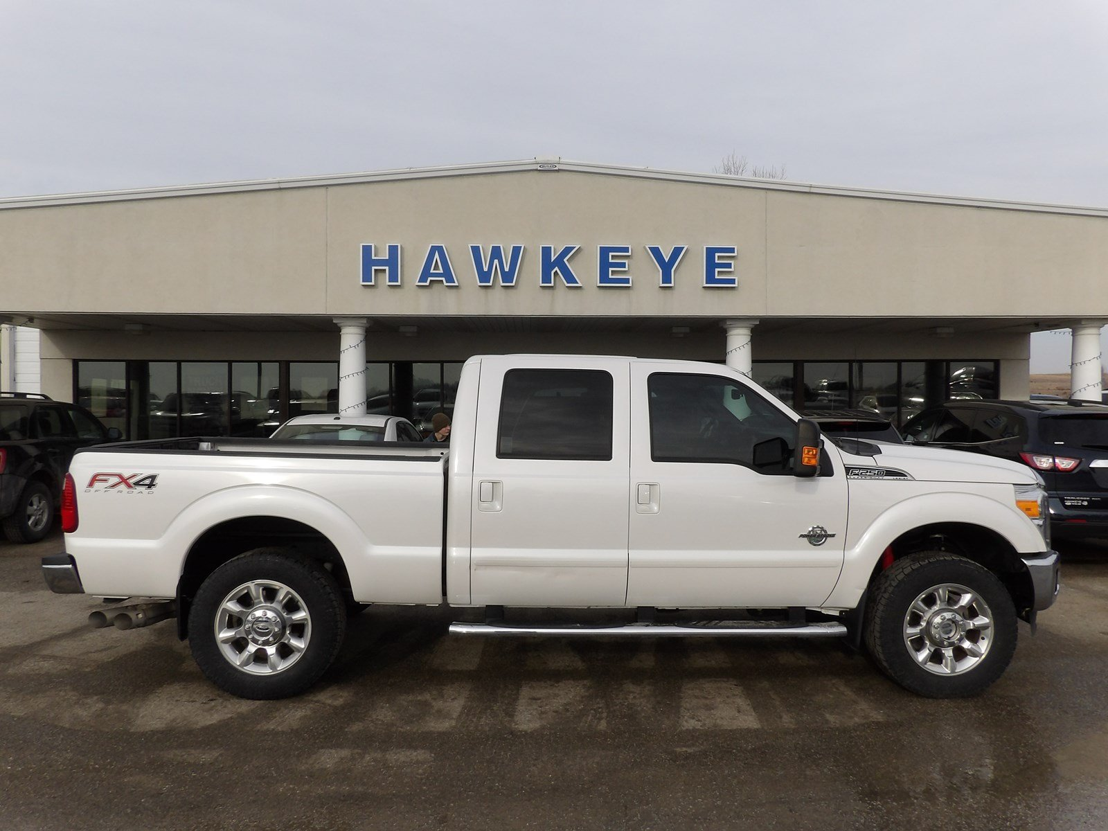 Featured Used 2015 Ford Super Duty F-250 SRW Lariat 4WD Crew Cab 172 Lariat for sale near you in Red Oak, IA