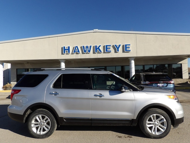 Used 2015 Ford Explorer XLT 4WD  XLT for Sale in Red Oak, IA